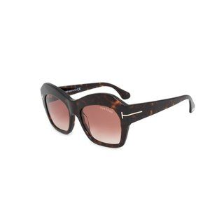 Tom Ford Squared Style Brown Gradient Lens.